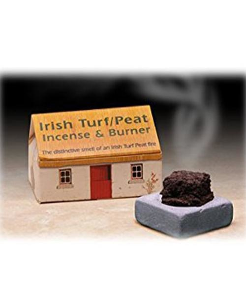 Peat Incense & Burner The Turf Co. Souvenir