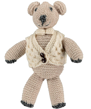 Charlie the Bear - Oatmeal - [Aran Woollen Mills] - Children & Baby Gifts - Irish Gifts
