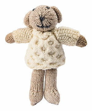 Aran Teddy - Oatmeal - [Aran Woollen Mills] - Children & Baby Gifts - Irish Gifts