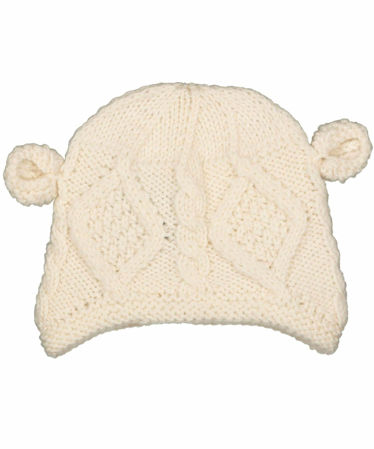 Kids Hat with Ears - [Aran Woollen Mills] - Childrens Hats, Scarves & Gloves - Irish Gifts