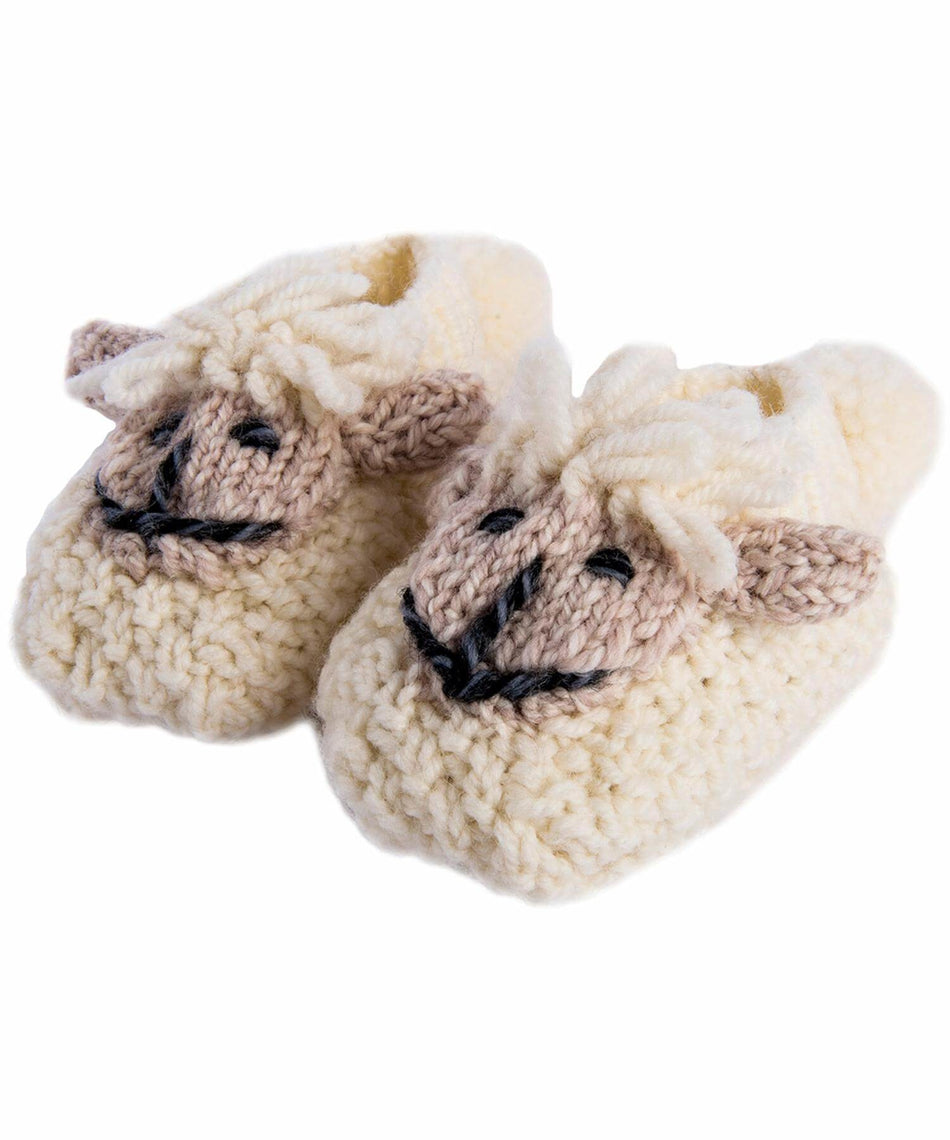 Baby Shepley Booties - [Aran Woollen Mills] - Children & Baby Gifts - Irish Gifts