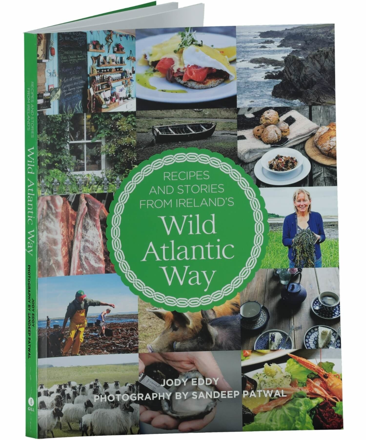 Recipes and Stories from Ireland's Wild Atlantic Way - [Gill & MacMillan] - Books & Stationery - Irish Gifts
