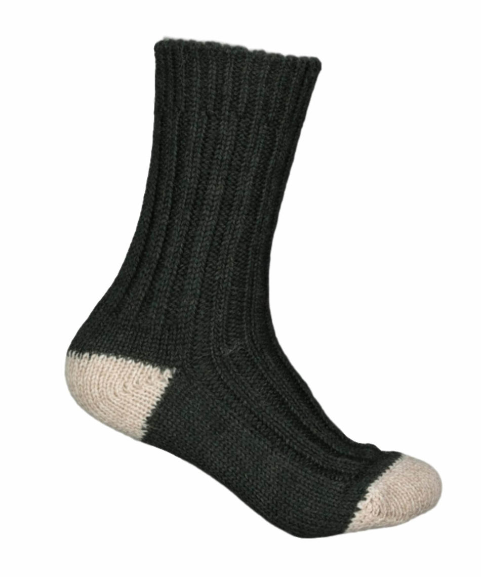 River View Merino Socks - Bottle Green - [Jimmy Walsh] - Socks & Slippers - Irish Gifts