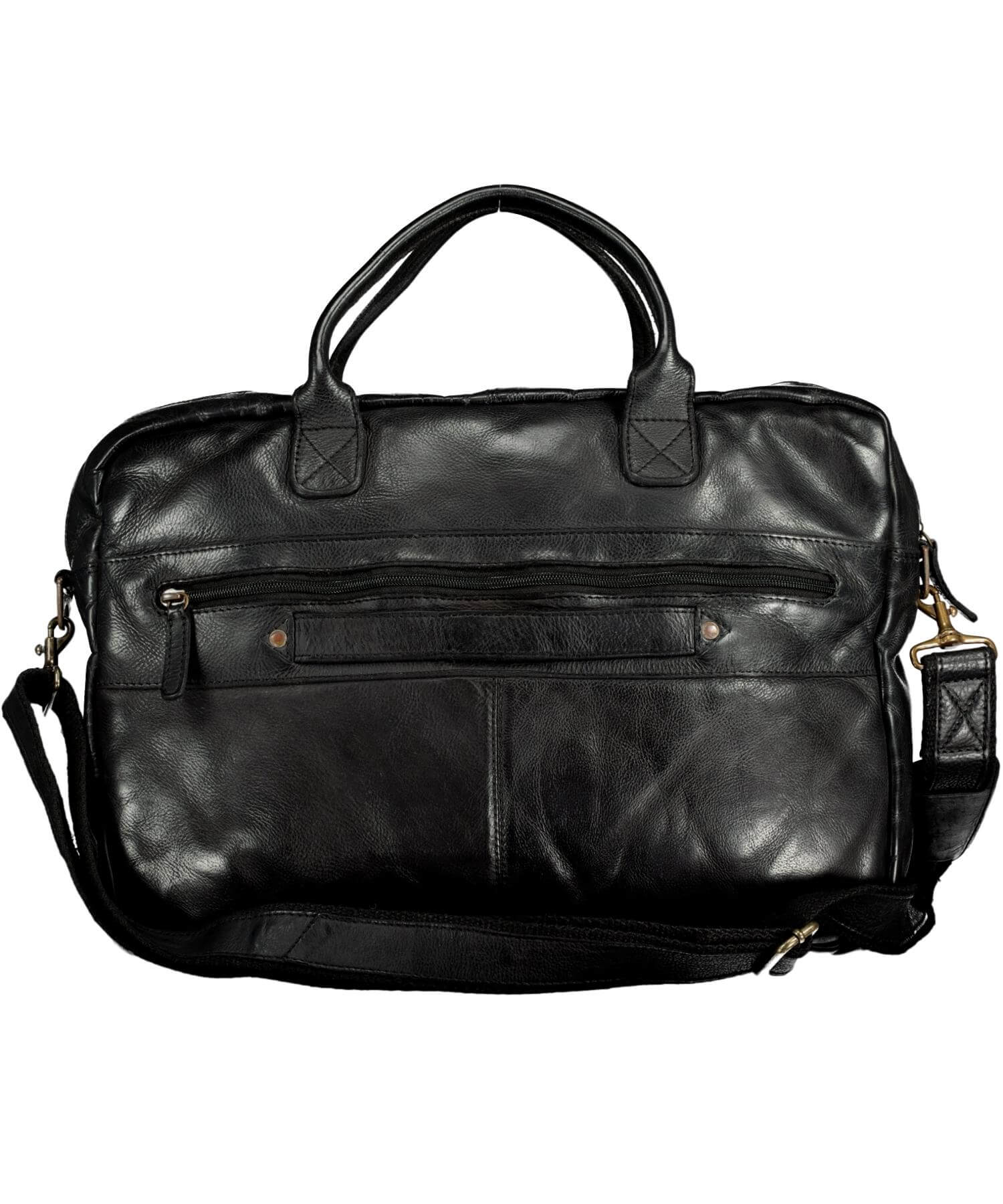 Rory Satchel - Black - [Lee River] - Bags, Purses & Wallets - Irish Gifts