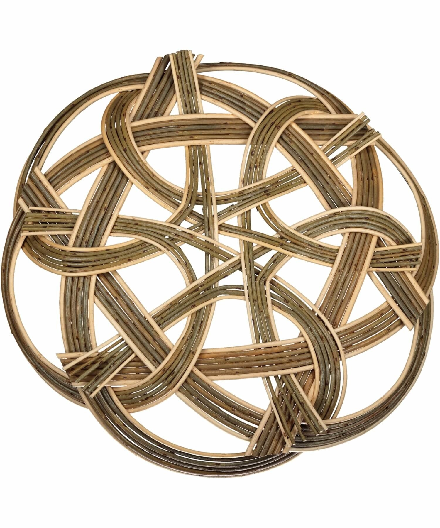 Celtic Knot Saille Baskets Wood & Slate