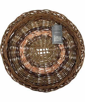 Irish Ciseog - Grid (large) - [Saille Baskets] - Wood & Slate - Irish Gifts