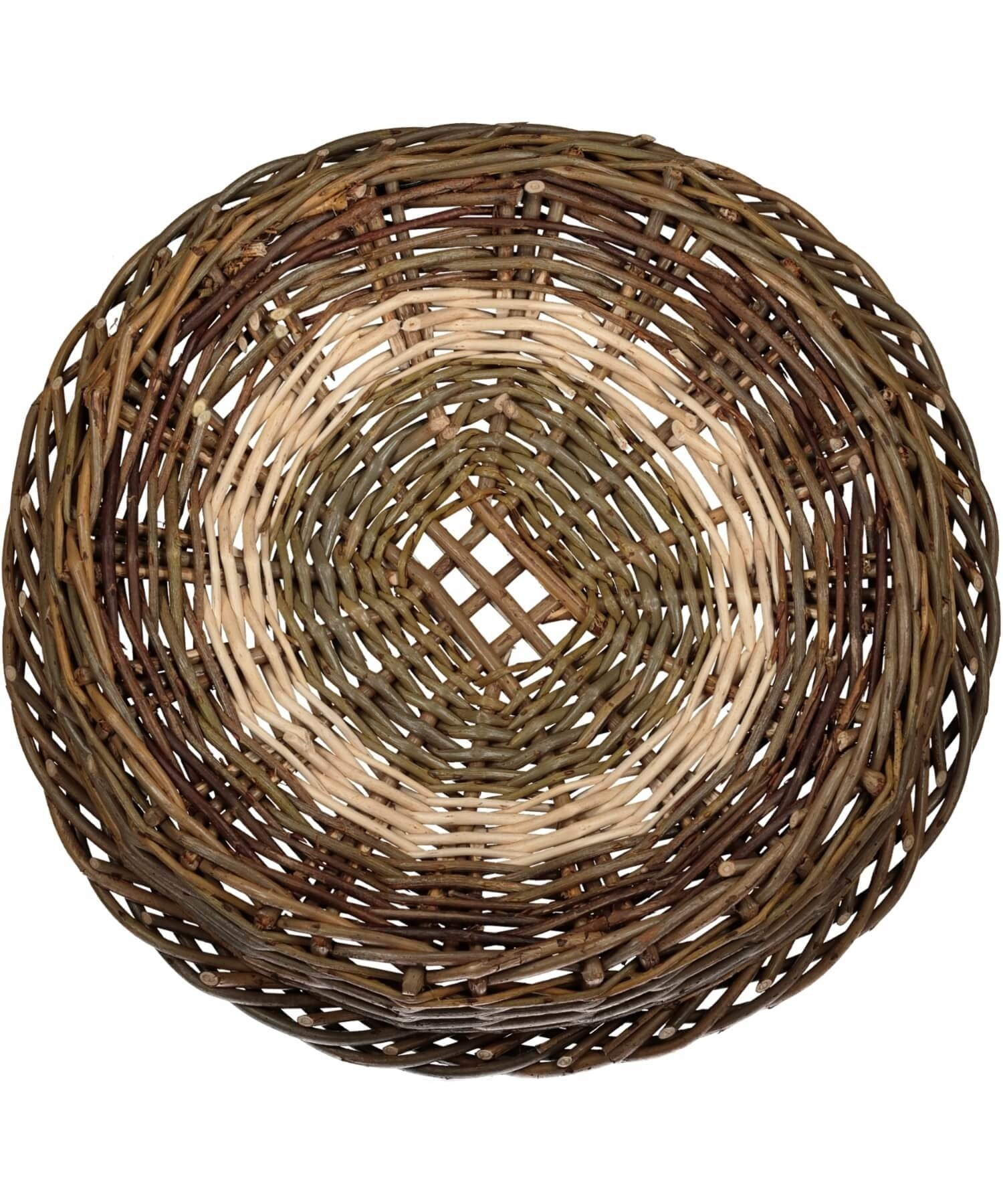 Irish Ciseog - Grid (small) Saille Baskets Wood & Slate