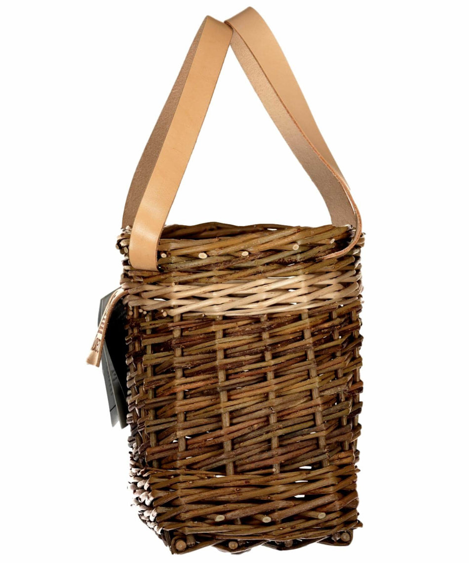 Lunch Pouch - Light Brown - [Saille Baskets] - Wood & Slate - Irish Gifts