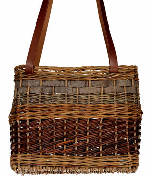 Willow Tote - [Saille Baskets] - Wood & Slate - Irish Gifts