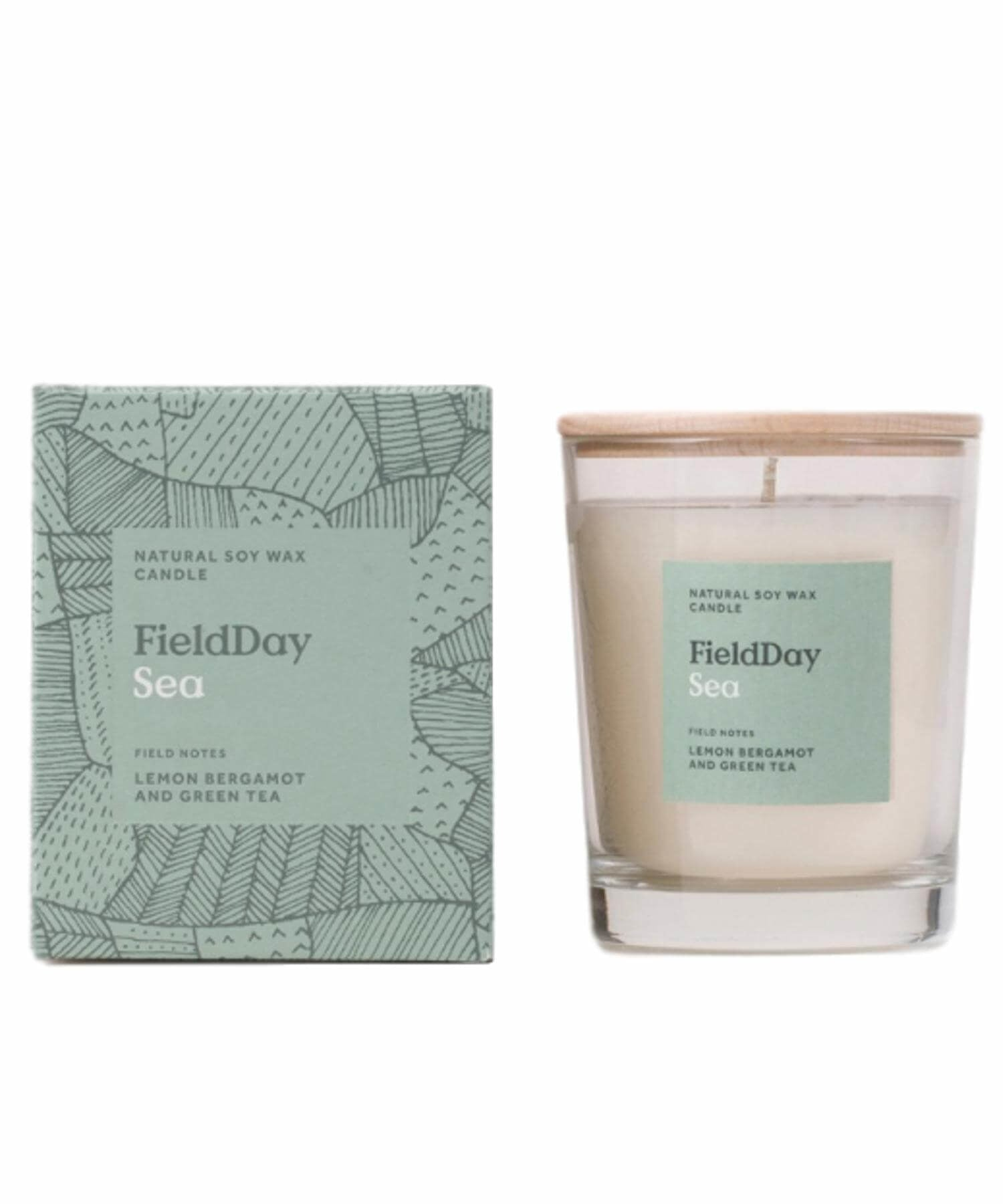 Sea Large Candle - [Field Day] - Home Fragrance - Irish Gifts