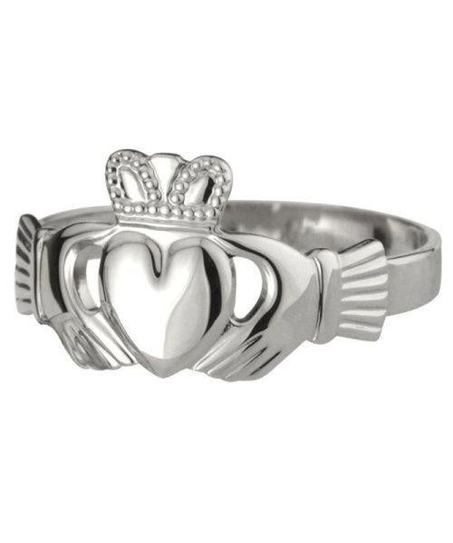 Sterling Silver Claddagh Solvar Celtic Jewellery