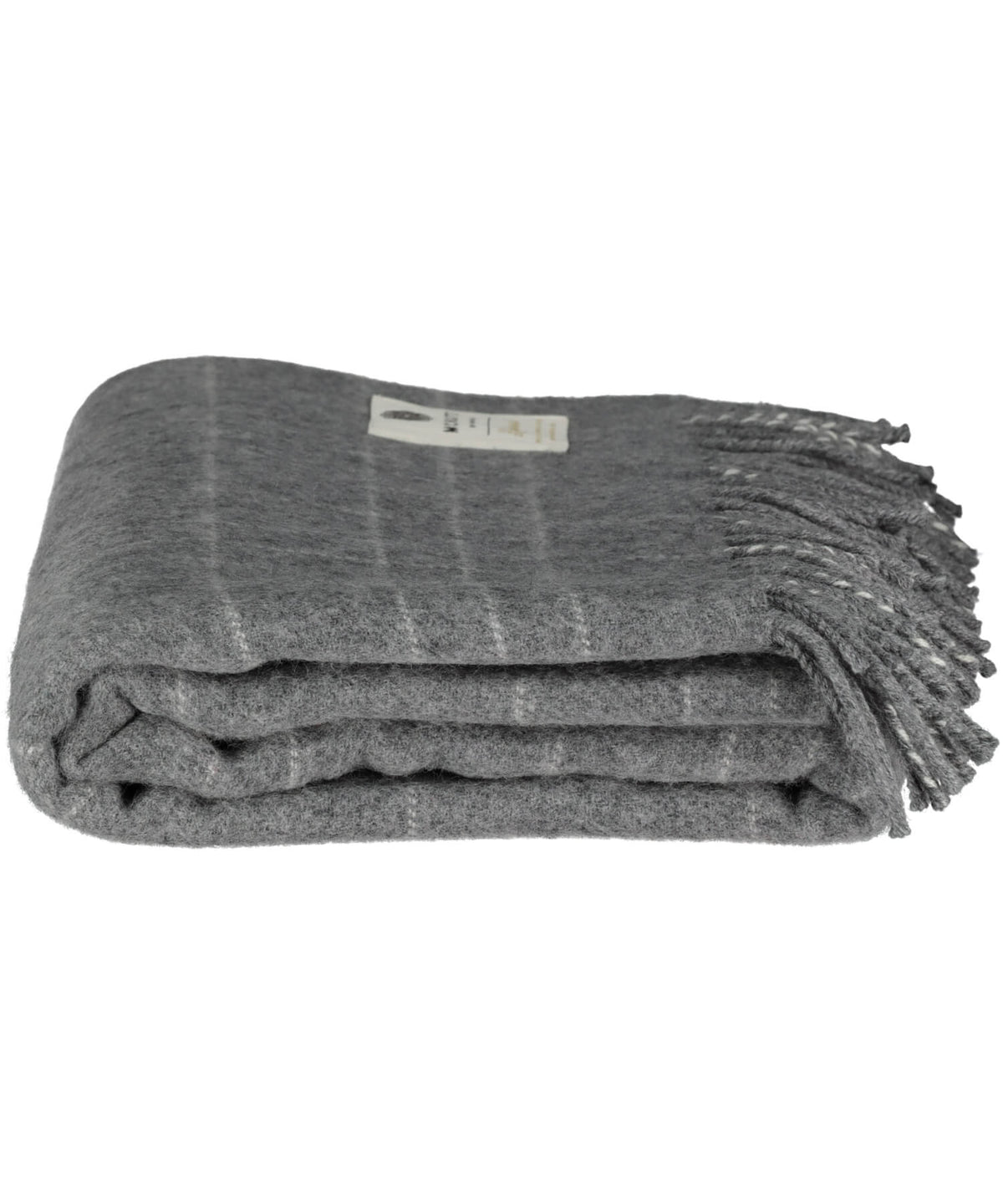 Supersoft Lambswool Throw - Steel Maze - [McNutts] - Throws & Cushions - Irish Gifts