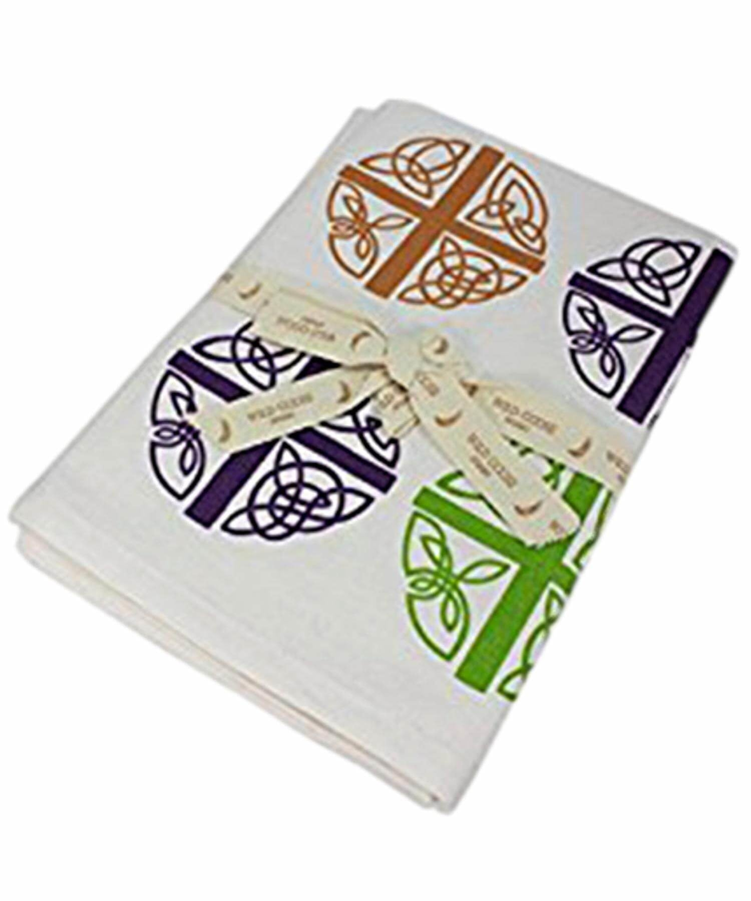 Teatowel - Celtic Love Cross - [Wild Goose] - Kitchen & Dining Textiles - Irish Gifts