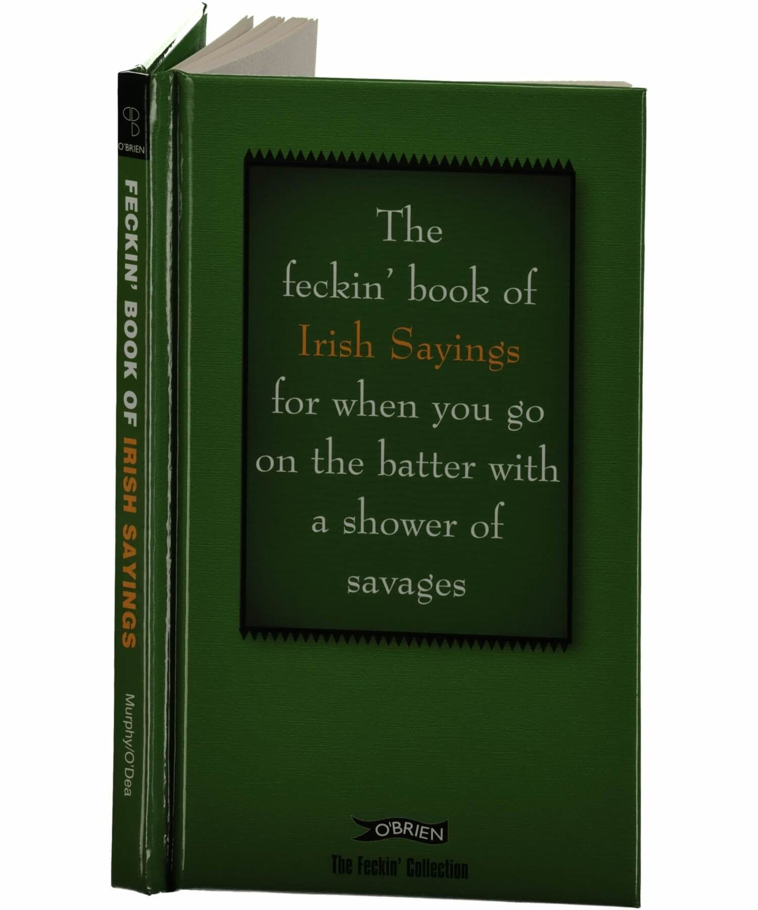 Feckin' Collection: Irish Sayings - [The O'Brien Press] - Books & Stationery - Irish Gifts