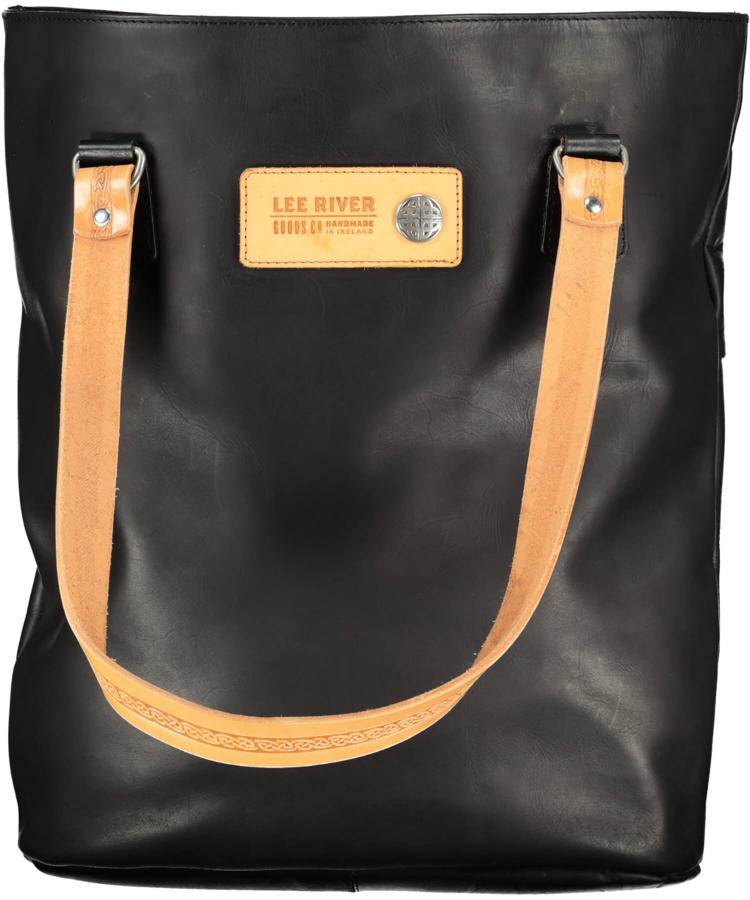 Tote Bag - Black - [Lee River] - Bags, Purses & Wallets - Irish Gifts