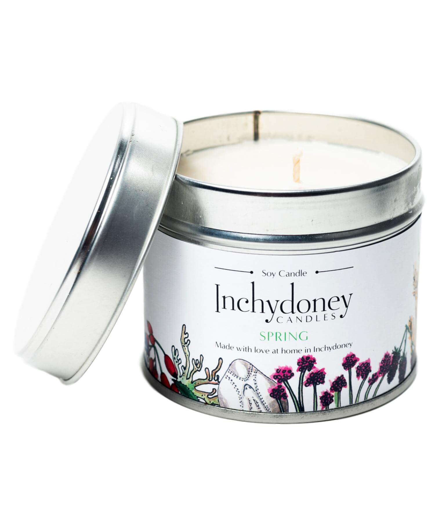 Travel Candle - Spring - [Inchydoney Candles] - Home Fragrance - Irish Gifts
