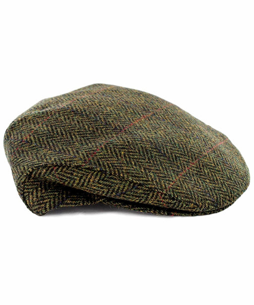 Trinity Cap - Moss Mucros Weavers Mens Caps Hats Scarves & Gloves