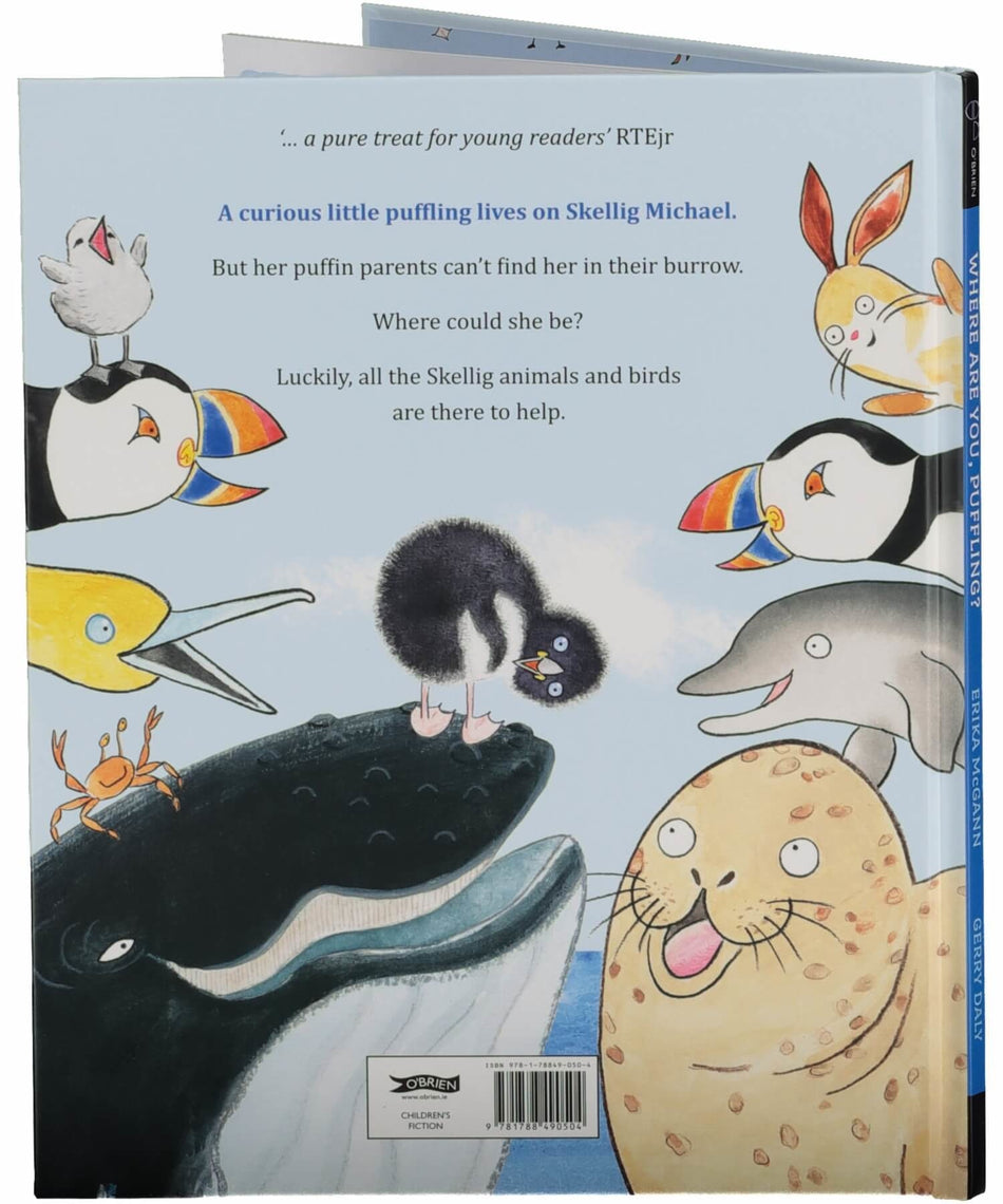 Where Are You, Puffling? - [The O'Brien Press] - Books & Stationery - Irish Gifts
