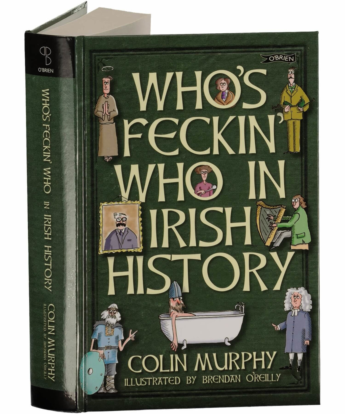Feckin' Collection: Who's Who - [The O'Brien Press] - Books & Stationery - Irish Gifts