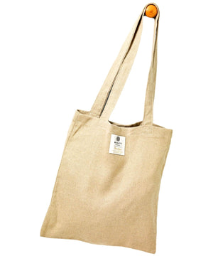 Irish Linen Bag - Natural - [McNutts] - Bags, Purses & Wallets - Irish Gifts