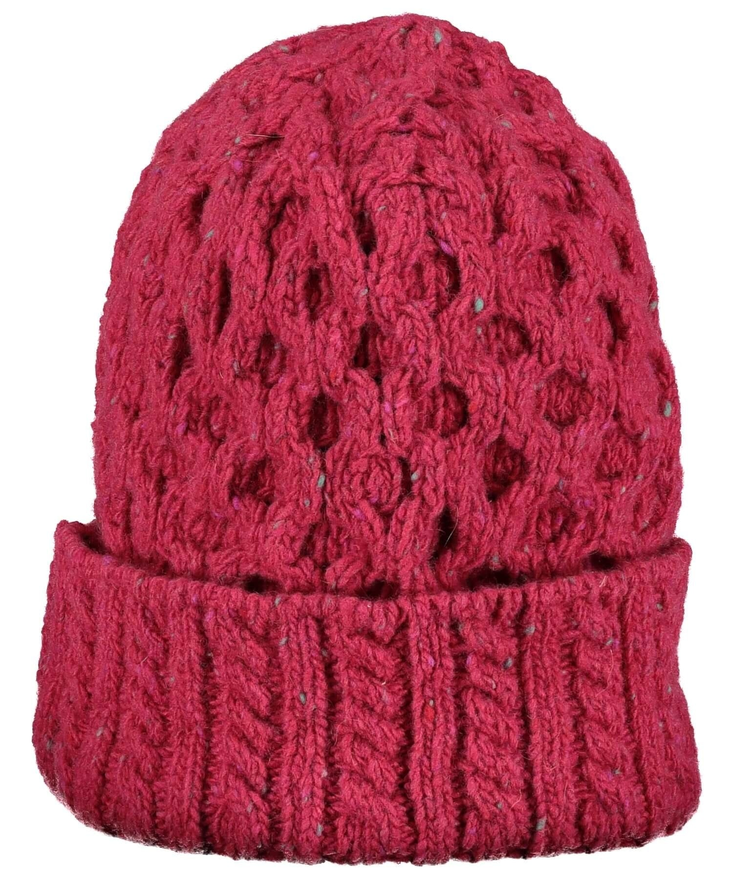 Luxe Aran Hat - Bramble Berry - [Irelands Eye] - Ladies Hats & Headbands - Irish Gifts