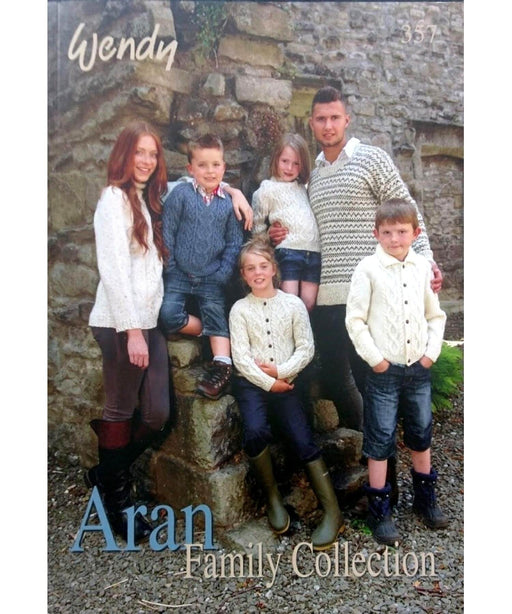 Aran Family Collection (357) - Wendy Springwools Knitting