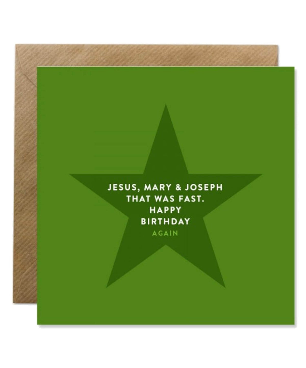 Greeting Card -Jesus Mary & Joseph Bold Bunny Cards