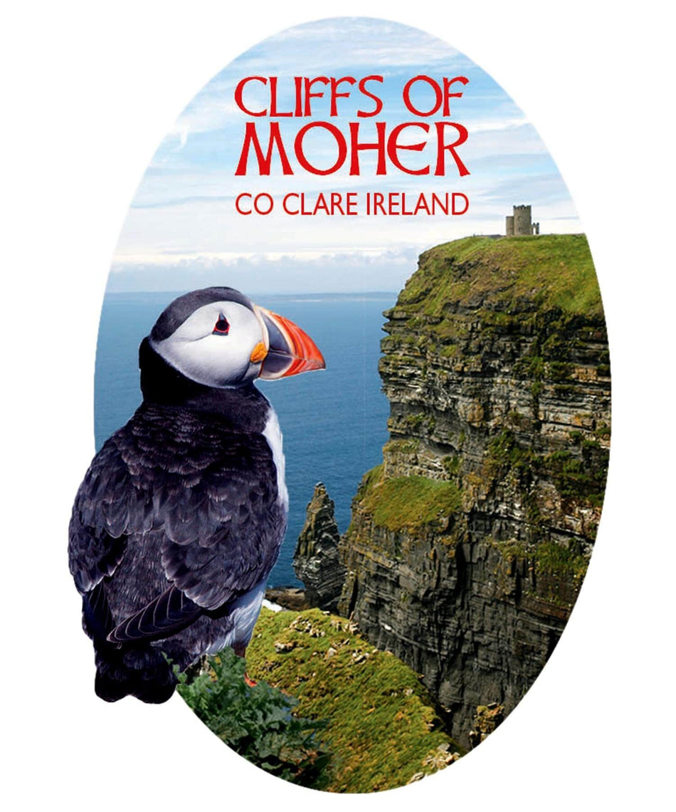 Fridge Magnet - The Cliffs of Moher - [Killarney Printing] - Souvenir - Irish Gifts