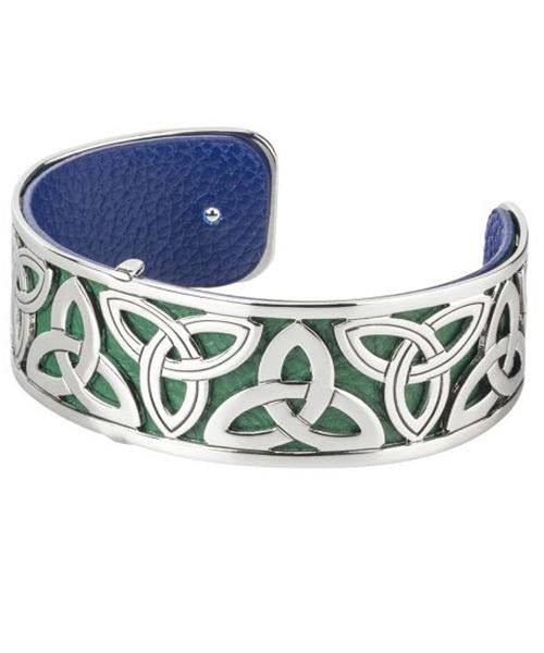 Cuff - Trinity Knot - [Solvar] - Jewellery - Irish Gifts