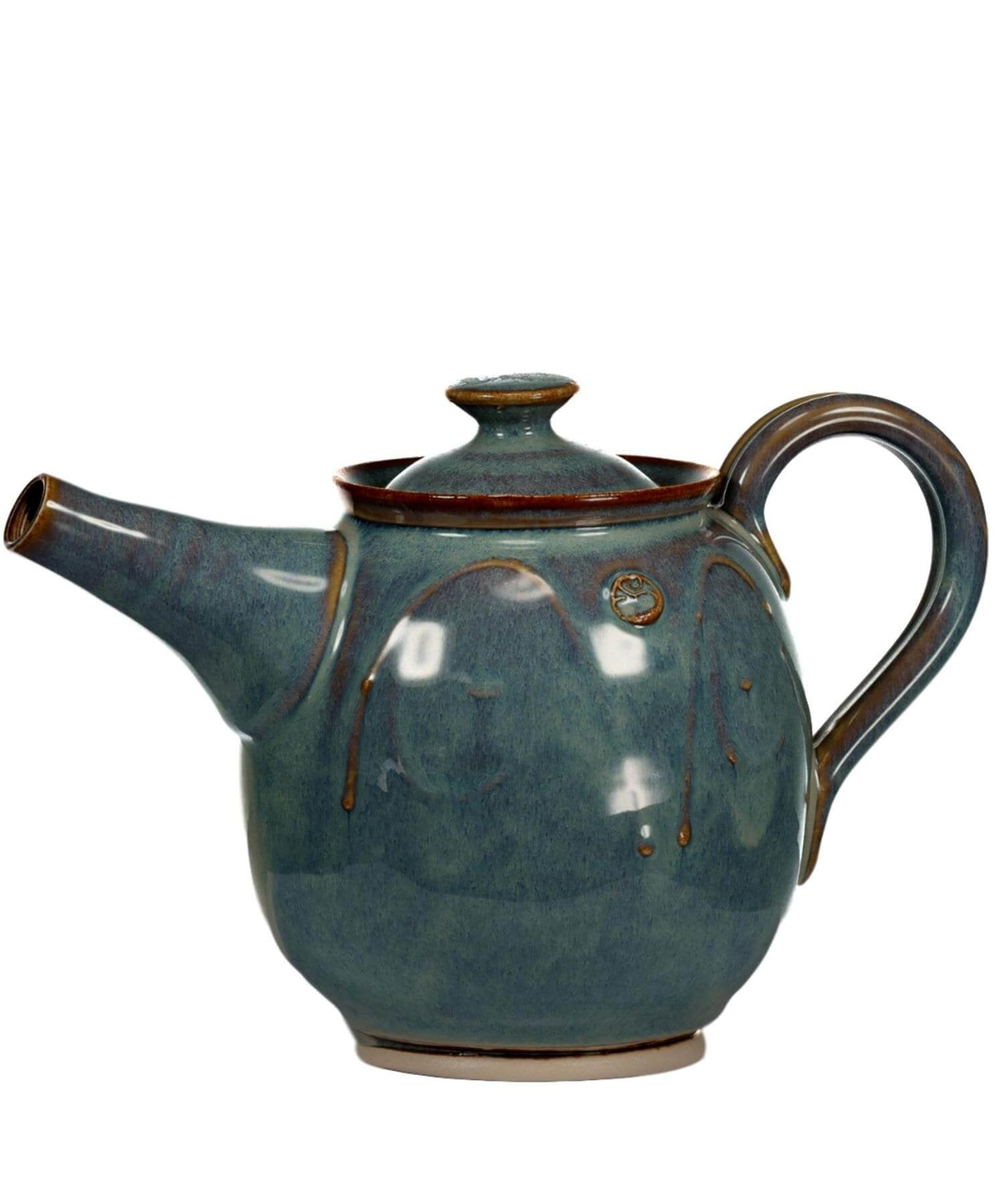 Glas - Teapot - [Castle Arch] - Pottery & Ceramics - Irish Gifts