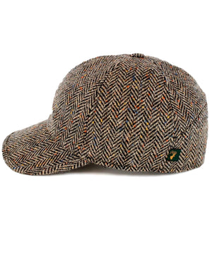 Baseball Hat - Charcoal Fleck - [Mucros Weavers] - Mens Hats & Headwear - Irish Gifts