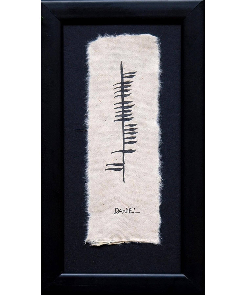 Ogham - Personalised Name - [Ogham Wishes] - Wall Art & Photography - Irish Gifts