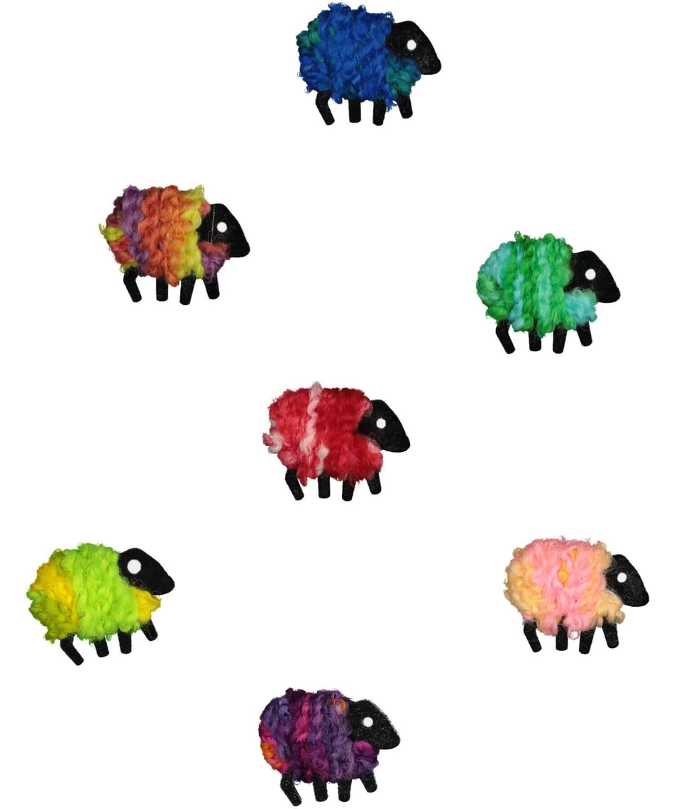 Handcrafted Sheep - Brooch - [Liz Christy] - Souvenir - Irish Gifts