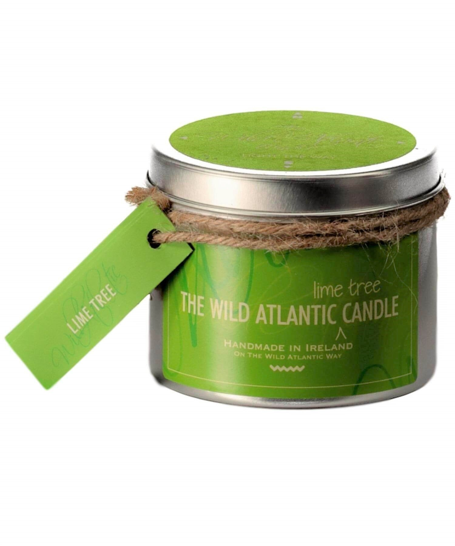 Lime Tree Wild Atlantic Candles Home Fragrance