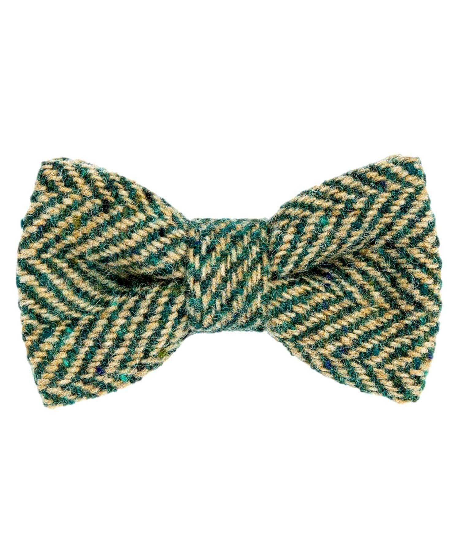 Donegal Tweed Bow Tie - Pine - [Orwell & Browne] - Mens Accessories - Irish Gifts