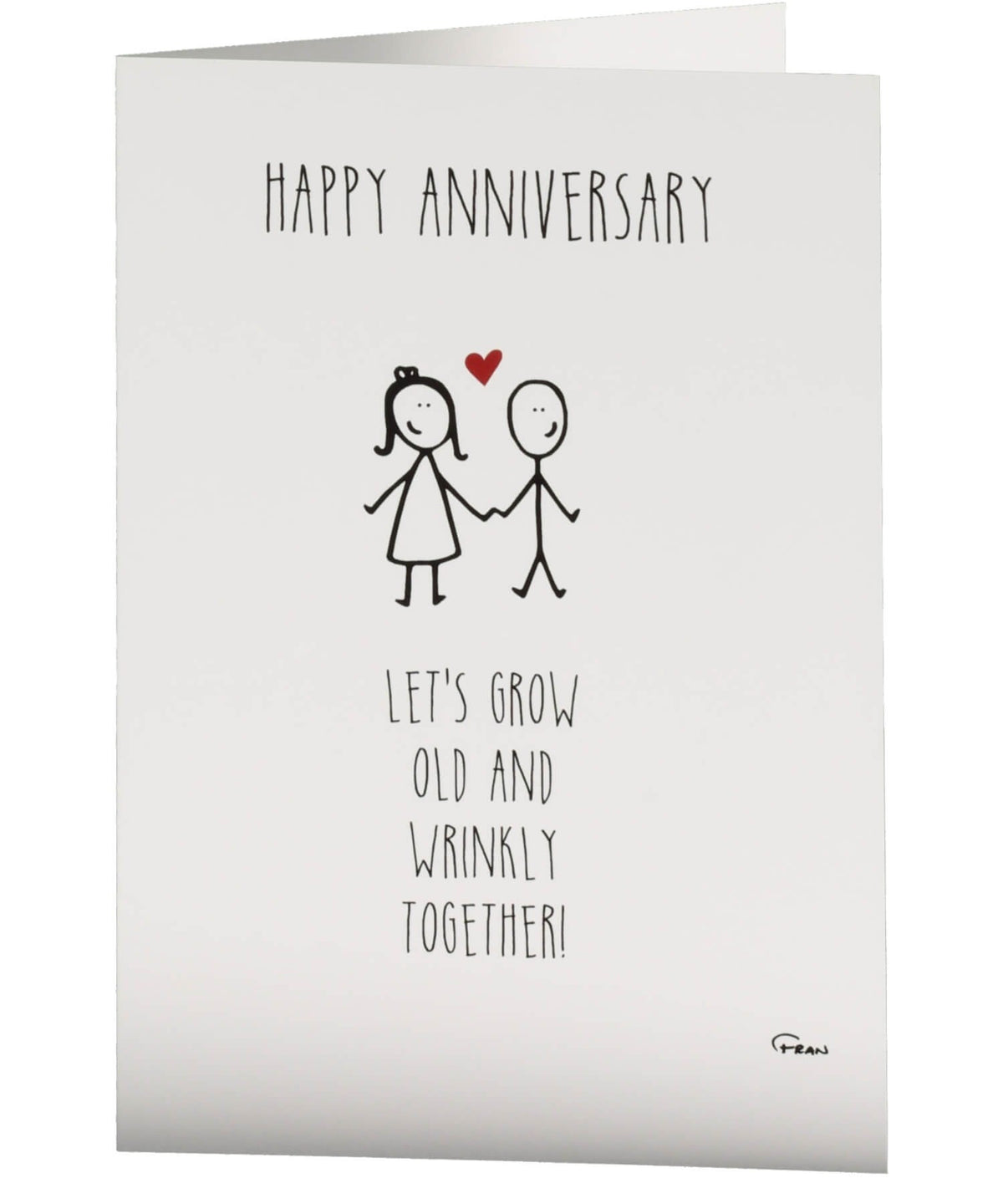 Greeting Card - Happy Anniversary Fab Cow Cards