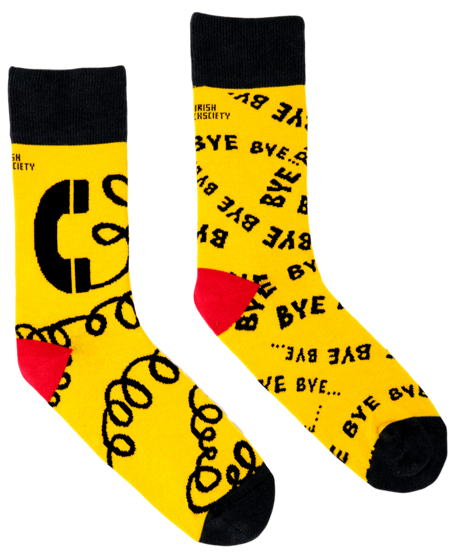Socks - Bye Bye Bye - [Irish Socksciety] - Socks & Slippers - Irish Gifts