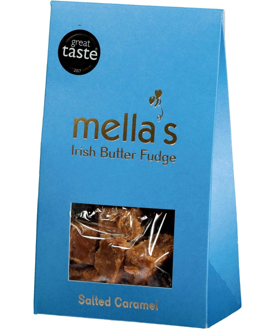 Irish Butter Fudge - Salted Caramel - [Mellas Fudge] - Food Gifts - Irish Gifts