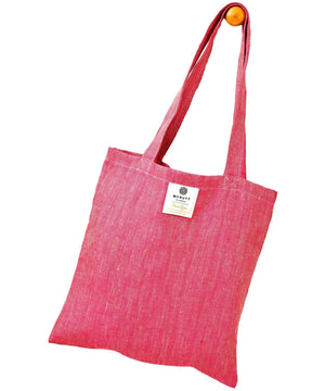 Irish Linen Bag - Fuchsia - [McNutts] - Bags, Purses & Wallets - Irish Gifts
