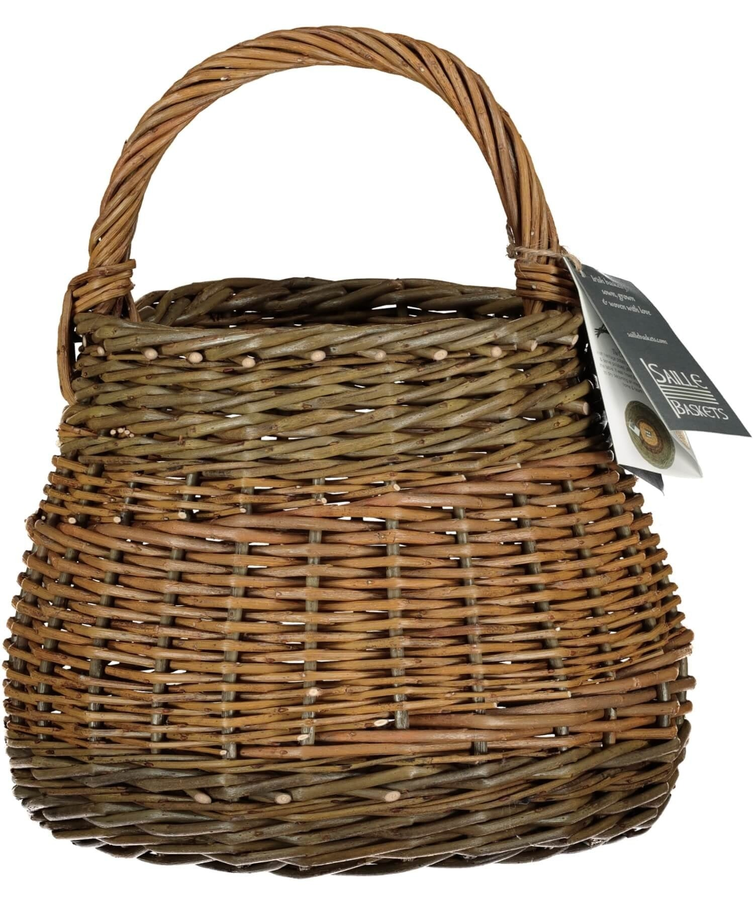 Aran Isle Kisheen - [Saille Baskets] - Wood & Slate - Irish Gifts