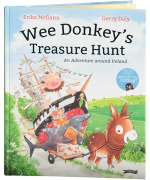 Wee Donkey's Treasure Hunt - [The O'Brien Press] - Books & Stationery - Irish Gifts