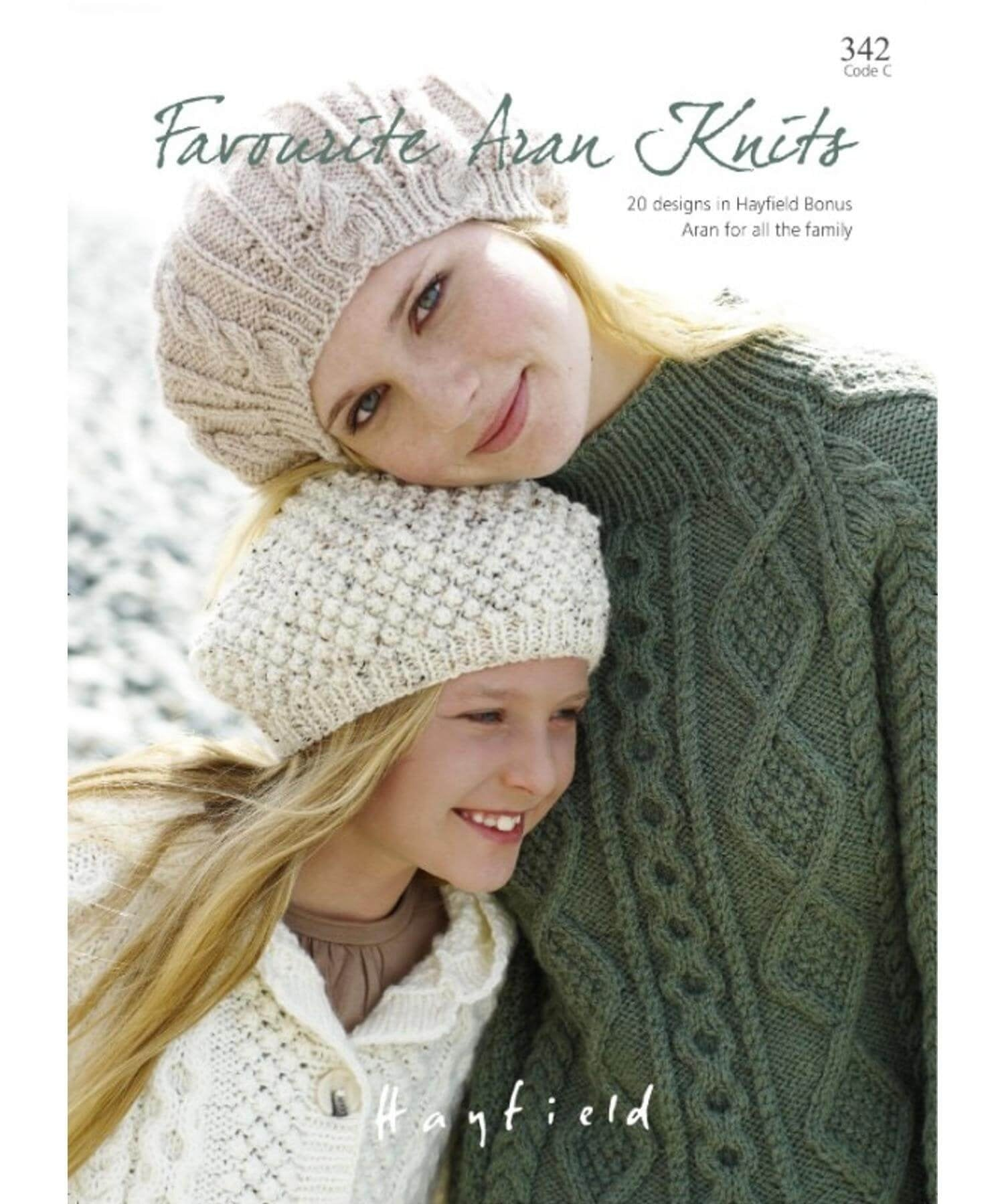 Favourite Aran Knits - Hayfield - [Springwools] - Knitting - Irish Gifts