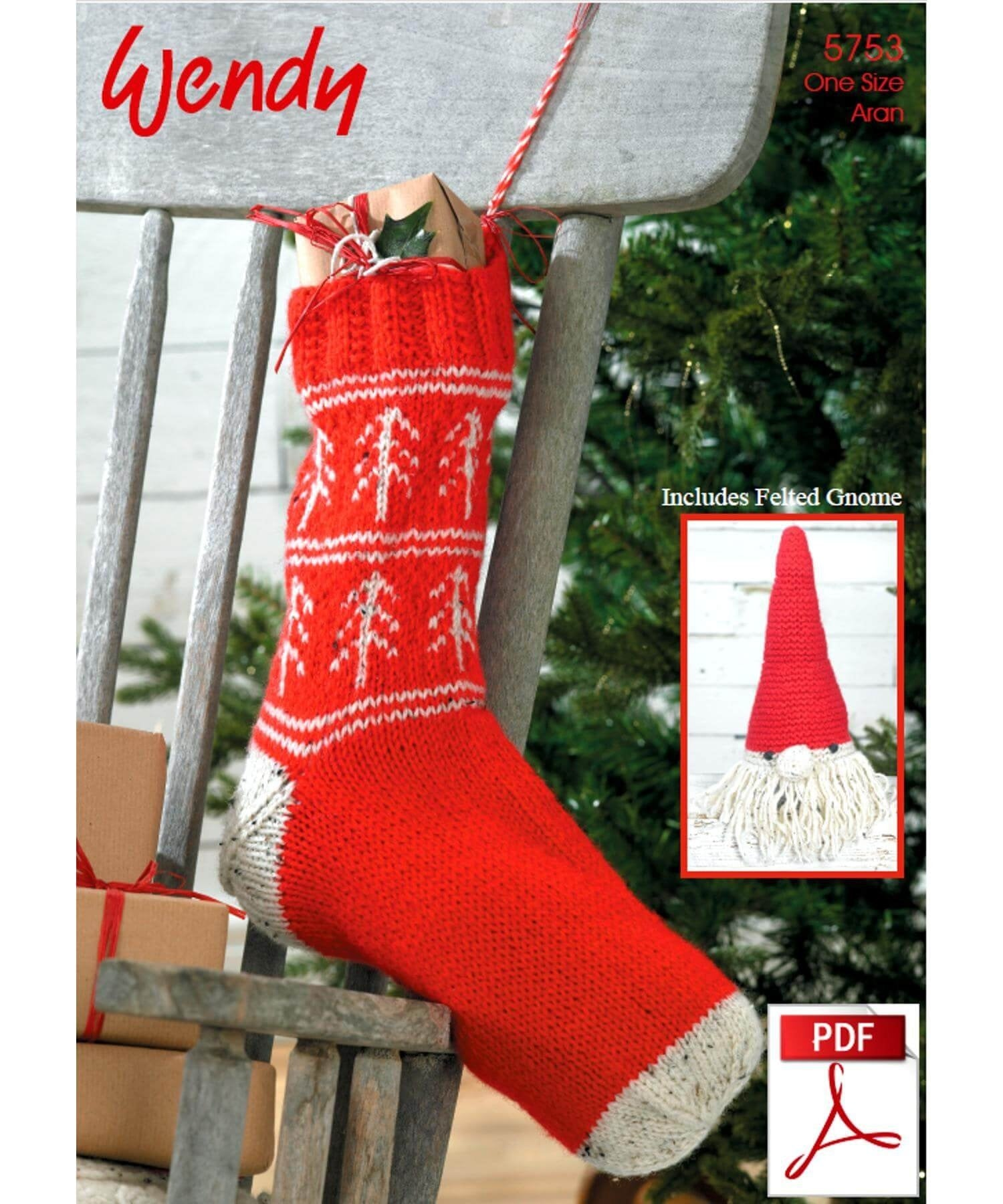 Wendy Christmas Pattern 5753 - [Springwools] - Knitting - Irish Gifts