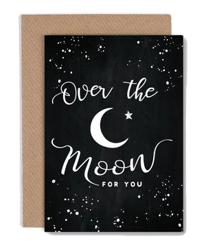 Greeting Card - Over The Moon - [Under the Willow] - Greeting Cards - Irish Gifts