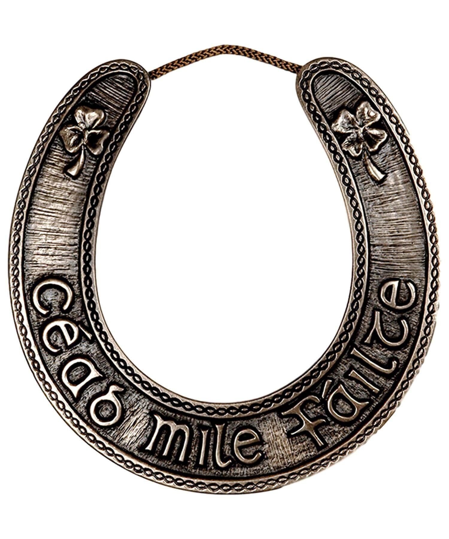 Carved Words - Irish Horseshoe Wild Goose Souvenir