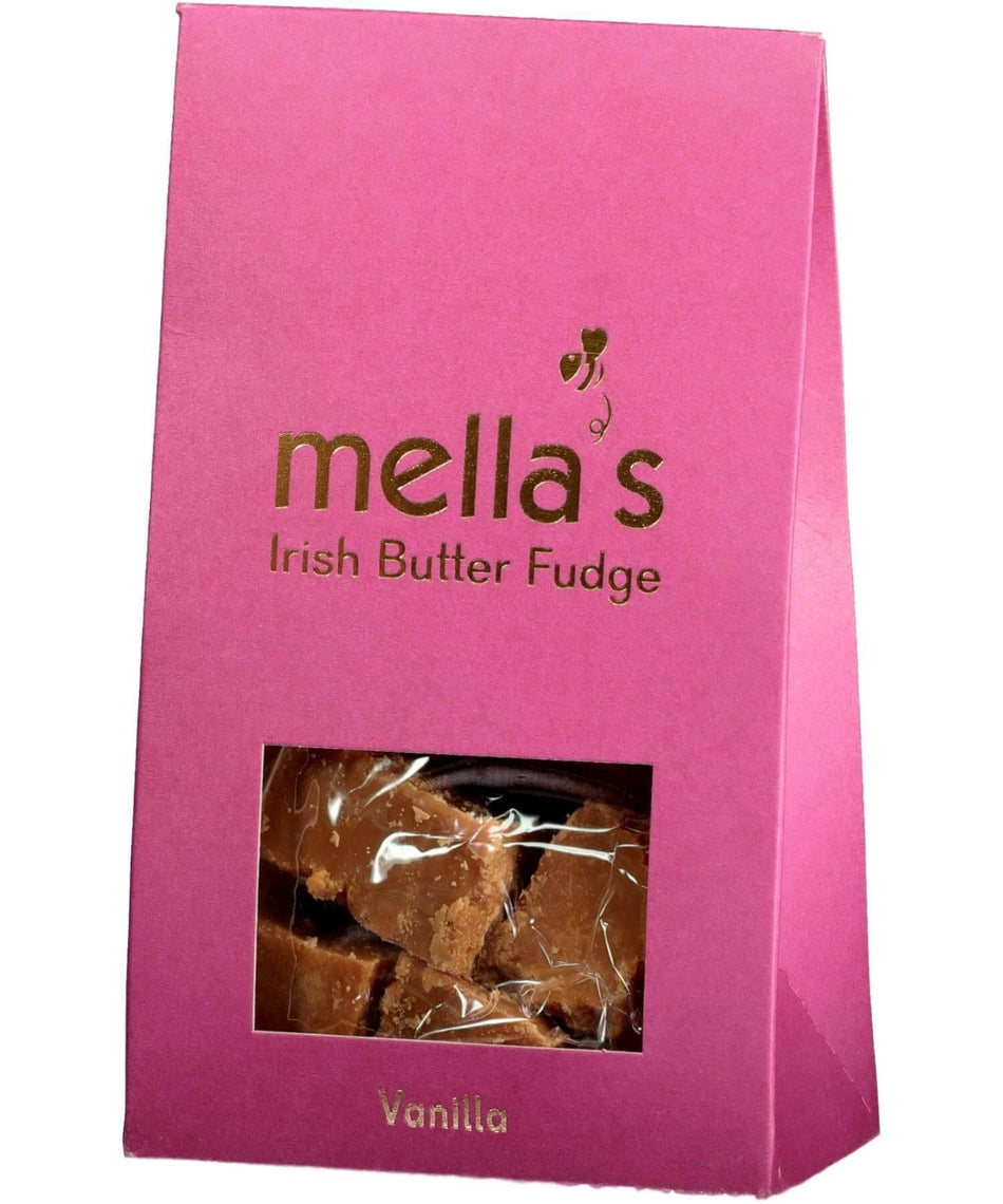 Irish Butter Fudge - Vanilla - [Mellas Fudge] - Food Gifts - Irish Gifts