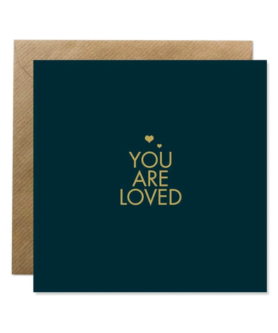 Greeting Card - You Are Loved - [Bold Bunny] - Greeting Cards - Irish Gifts