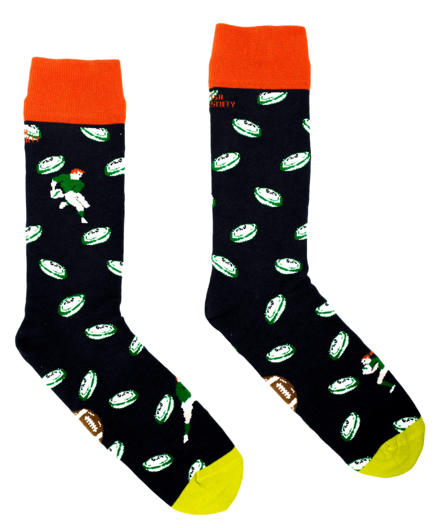 Socks - G'wan Rugby - [Irish Socksciety] - Socks & Slippers - Irish Gifts