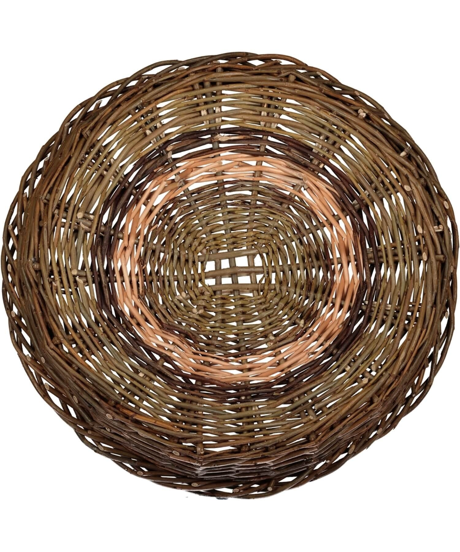 Irish Ciseog - Grid (large) Saille Baskets Wood & Slate