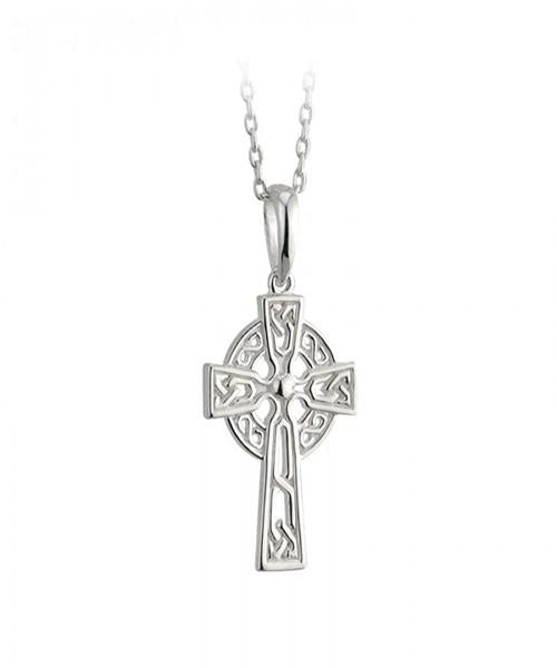Celtic Cross Pendant small - [Solvar] - Jewellery - Irish Gifts